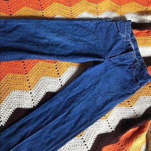 Vintage Wrangler Straight Leg Mom Blue Jeans